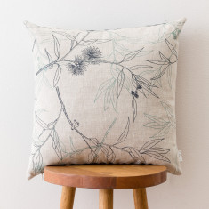 Flowering Gum & Daintree cushion cover