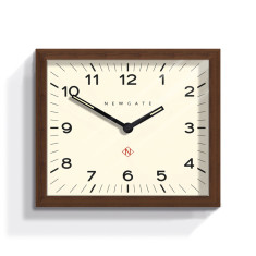 Modernist Rectangular Wall Clock Mr Davies by Newgate