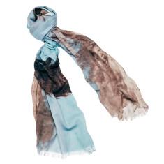 Mail Drop linen-blend scarf