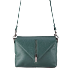 Exile leather bag in green