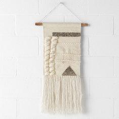 Sherpa wall hanging