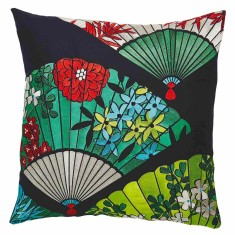 Fan Multi-coloured cushion