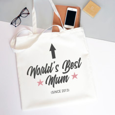 World's Best Mum Tote Bag