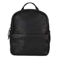 People Like Us leather backpack in black bubble
