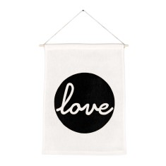 Love handmade wall banner