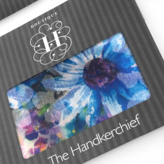 Edna's flowers hankies (set of 2)