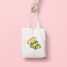 Love You More Than Pizza Tote Bag