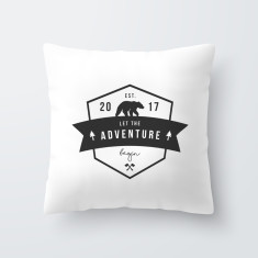 Adventure Personalised Baby Throw Pillow