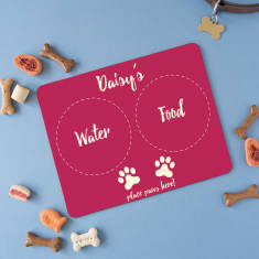 Personalised Placemat For Small Pets