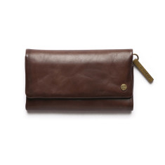 Paiget Classic Collection wallet in chocolate