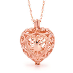 Passion Rose Gold Perfumed Necklace