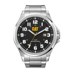 CAT Operator series in steel with black face