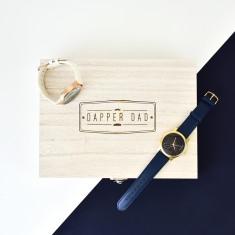 Dapper Dad Wooden Watch Box