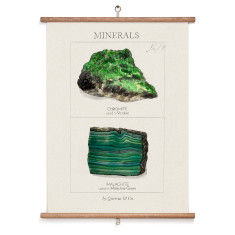 Green Minerals Wall Hanging