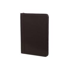 Black leather high-quality compendium