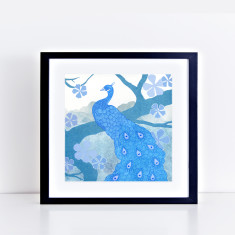 the peacock limited edition fine art giclee print