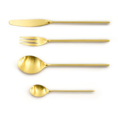 Malmo Cutlery Set In Old Gold