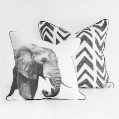 Elephant & Arrows Cushion Cover