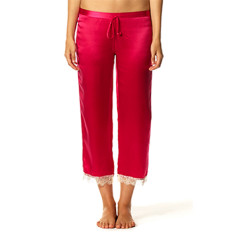 Chloe PJ Pant In Crimson