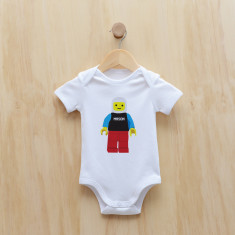 Personalised blockman bodysuit