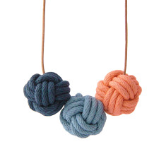 Portofino nautical knot necklace