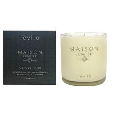 Maison Lumière Velvet Oud Candle / Oud Bois et Pierre Fruit Bougie Parfum