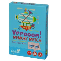 Vrrooom memory match game