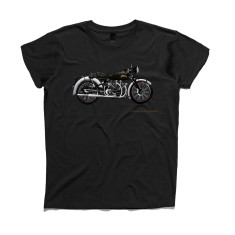 Vincent motorcycle Hand Painted Kids' t-shirt