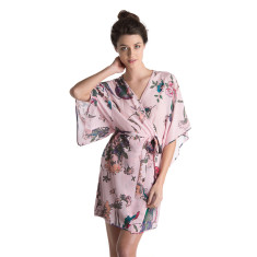 Silk Robe - Petunia