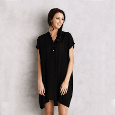 Belize dress in black