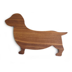 Sausage dog serving board