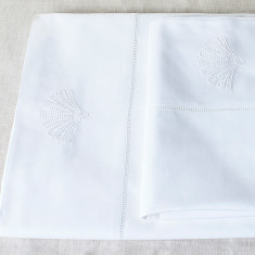 Flat & Fitted Papyrus Cot Sheet Set