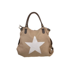 Star Natural Shoulder Bag