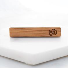 Wooden Tie Bar with camera design