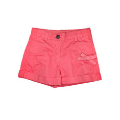 Girl's shorts with turn-ups