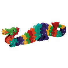 Dragon alphabet jigsaw puzzle