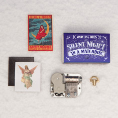 Make Your Own Christmas Music Box In A Matchbox