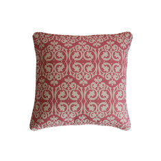 Pink Damask Cushion Covers - sold in sets of 2