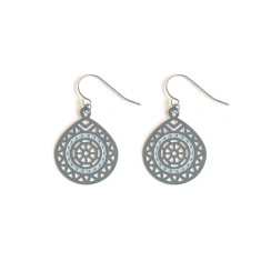 Stainless Steel Indiana Earring