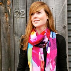 Melbourne silk scarf