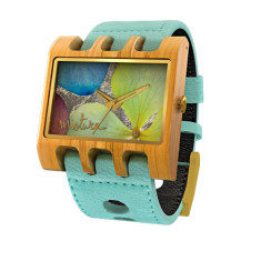 Lenzo Santa Elena watch in Turquoise