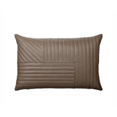 Walnut Leather Cushion