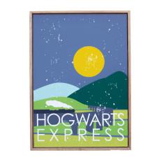 Harry Potter theme framed print (various designs)