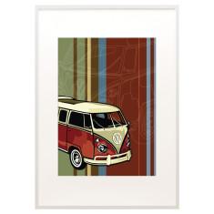 VW Kombi print