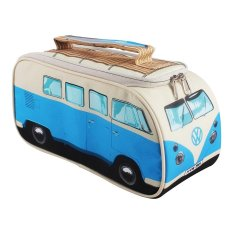 VW Campervan lunch box in blue