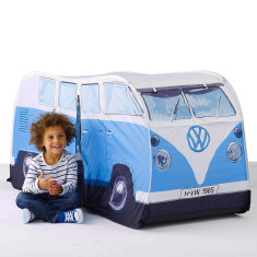 VW campervan blue kids tent