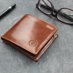 The Vittore Personalised Billfold Wallet
