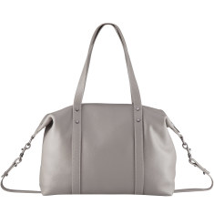 Love and Lies leather bag in grey