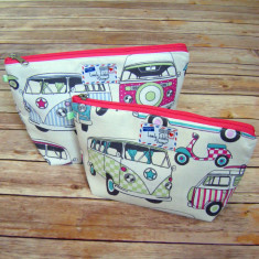 Campervan scooter toiletry bag