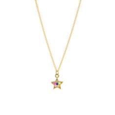 A star over the rainbow